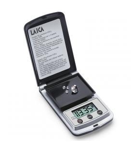 Balanza de precisión laica bx9310 negro plata - hasta 120g - precisión 0.05g - Imagen 1