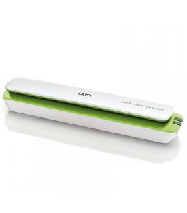 Envasadora al vacio laica vt3115 blanca/verde - compacta - 0.6bar - ancho máximo de la bolsa 30cm - automatica - contenedor - Im