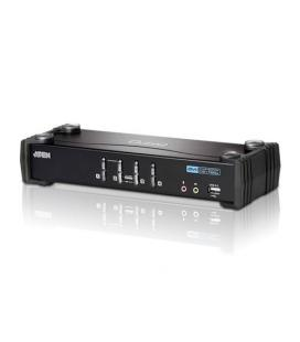 ATEN DESKTOP KVM 4-PORT USB DVI KVM SWITCH WITH AUDIO & USB - Imagen 1