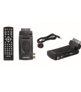 Receptor tdt bisagra dvb -t2 hd fonestar rdt-760hd/ usb /hdmi/ euroconector/ grabador / audio-video