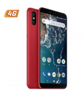 Smartphone móvil xiaomi mi a2 red - 5.99'/15.2cm - snapdragon 660 aie - 4gb ram - 64gb - cam (20+12)/20mp - 4g - dual sim - bat