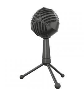 Micrófono usb para streaming trust gaming gxt 248 luno - grabación cardioide - botón silenciamiento - soporte trípode - cable