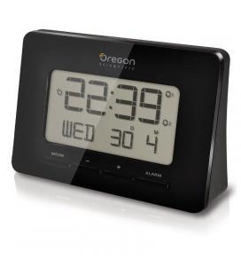 Reloj despertador oregon rm-938 - tribanda (eu/uk/us) - dígitos gran formato - alarma dual - tamaño especial viaje - 2*aaa - Ima
