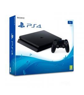 Consola sony playstation 4 slim 1tb - mando inalámbrico dualshock 4 - cable hdmi - cable usb - auricular - cable alimentación