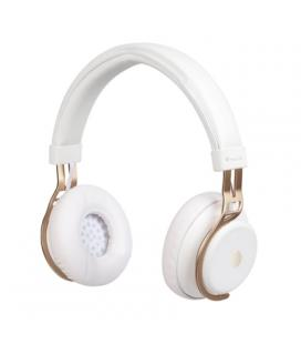 Auriculares bluetooth ngs ártica lust white - alcance 10m - micrófono - diadema ajustable - pueden usarse con cable jack 3.5mm