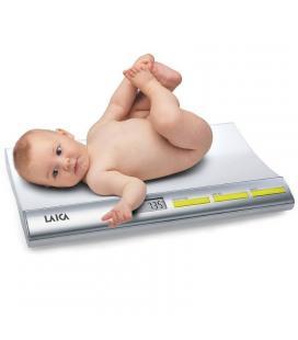 Báscula para bebés digital laica ps3001 - peso max 20kg - lcd 7.8*2.8 cm - 4*1.5v aaa - funciones tara/bloqueo - Imagen 1