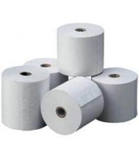 Rollo de papel termico impresora ticket 57x55 especial balanzas
