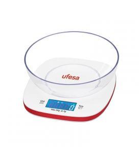 Báscula de cocina ufesa bc1450 - hasta 5 kg - función tara - pantalla retroiluminada - bol de plástico - Imagen 1