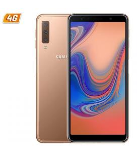 Smartphone móvil samsung galaxy a8 gold - 5.5'/13.9cm - cam (16+8)/16mpx - oc (2.2+1.6)ghz - 32gb - 4gb ram - android - 4g -