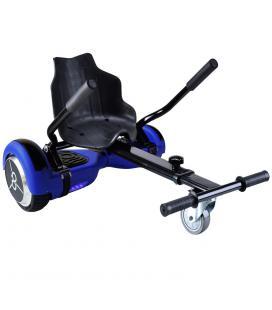 "Kit hoverkart + hoverboard skateflash k9 azul rueda 6.5"" bateria 4400mah motor 500w"
