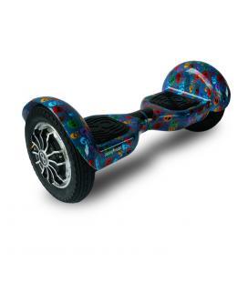 """Hoverboard skateflash k10+b skull rueda 10"""" bateria 4000 mah motor 350wx2"""