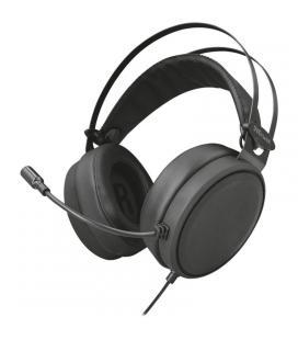 Auriculares con micrófono trust lano - estéreo - drivers 50mm - 20-20000 hz - cable trenzado nailon usb 2m