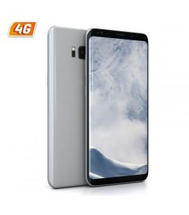 Smartphone móvil samsung galaxy s8 plata - 5.8'/14.7cm 2960x1440 - cam 12/8mp - oc 2.3ghz - 64gb - 4gb ram - android 7 - 4g -