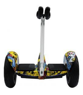 Patinete electrico skateflash lite graffity bateria 155wh motor 350wx2