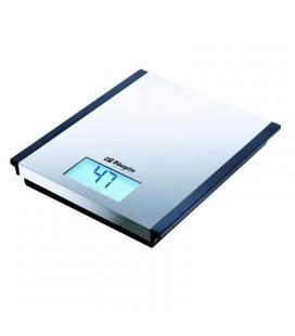 Báscula de cocina orbegozo pc 2010 - hasta 5 kg - precisión 1g - gran superficie de acero inoxidable - Imagen 1