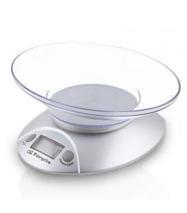 Báscula de cocina orbegozo pc 1009 - hasta 3 kg - precisión 1g - display lcd 17.5mm - bol transparente - Imagen 1