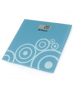 Báscula de baño orbegozo pb 2214 - pantalla lcd 73*28mm - superficie cristal templado - hasta 150kg - precisión 100g - Imagen 1