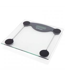 Báscula de baño orbegozo pb 2211 - pantalla lcd 73*28mm - superficie cristal templado - hasta 150kg - precisión 100g - Imagen 1