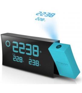 Estacion meteorológica oregon bar223pn azul - reloj radio controlado - proyección temperatura y hora - pronóstico meteo - - Ima