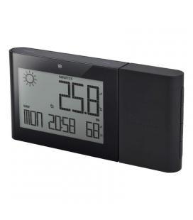 Estacion meteorológica alizé oregon bar-266-negra - pantalla led - temp interior-exterior- humedad interior - soporte hasta 5 -