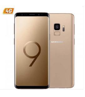 Smartphone móvil samsung galaxy s9 gold - 5.8'/14.73cm - cam 12/8mp - exynos 9810 octa - 64gb - 4gb ram - android 8 - 4g -