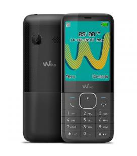 Teléfono móvil wiko riff 3 plus black - display 2.4'/6cm - dual sim - cámara vga - radio fm - mp3 - bt - manos libres - bat.