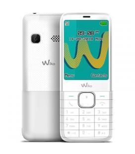 Teléfono móvil wiko riff 3 plus white - display 2.4'/6cm - dual sim - cámara vga - radio fm - mp3 - bt - manos libres - bat.