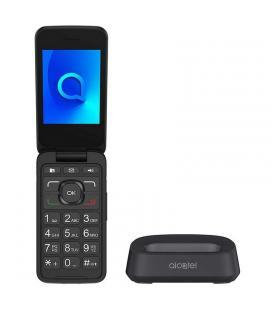 """Alcatel 3026X Telefono Movil 2.8"""" QVGA BT Plata"""