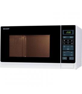 Microondas sharp r342inw - 900w - 25 litros - control táctil - 11 niveles potencia - 8 funciones automáticas de cocción -