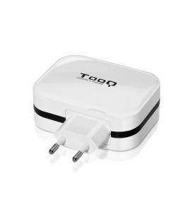 CARGADOR PARED TQWC-1SC04WT USB-C + USB A, 27W, BLANCO