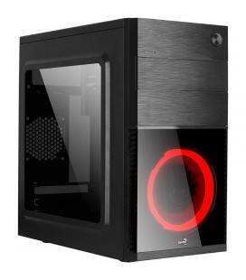 Caja semitorre aerocool cs105rd - atx - 1*5.25 / 2*3.5 / 1*2.5 - 1*usb 3.0/1*usb 2.0 - ventilador led rojo - Imagen 1