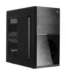 Caja semitorre aerocool cs105bk - atx - 1*5.25 / 2*3.5 / 1*2.5 - 1*usb 3.0/1*usb 2.0 - soporta refrigeración líquida - - Imagen