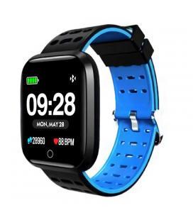 Reloj inteligente innjoo sportwatch azul - pantalla 3.3cm - cuantificador salud - notificaciones - bat 180mah - compatible