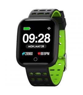 Reloj inteligente innjoo sportwatch verde - pantalla 3.3cm - cuantificador salud - notificaciones - bat 180mah - compatible