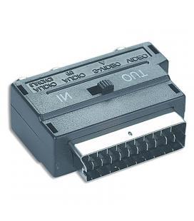 Gembird Adaptador Euroconector a RCA/SVideo,SCART
