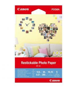 Papel canon foto rp-101 3635c002 a6 10x15/ 5 hojas