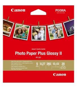 Papel canon foto pp-201 2311b060 a4 13x13/ 20 hojas