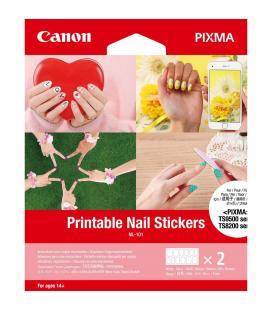 Pegatinas canon para uñas imprimible nl-101 3203c002/ 2 hojas