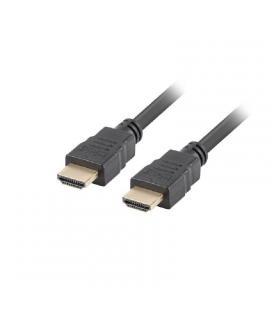 Cable hdmi lanberg ca-hdmi-11cc-0018-bk - conectores macho / macho - resolución hasta 3840*2160 30hz con canal ethernet - 1.8