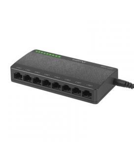 Switch lanberg dsp1-1008 - 8 puertos gigabit - chipset realtek rtl8370n-vb