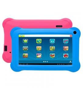 Tablet infantil denver taq-90063kbluepink - qc 1.2ghz - 1gb ddr3 - 16gb - 9'/22.86cm 800x480 - android 6.0+kidoz - fundas