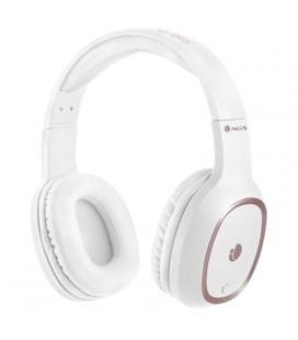 Auriculares bluetooth ngs ártica pride white - alcance 10m - micrófono - diadema ajustable - almohadillas acolchadas - batería