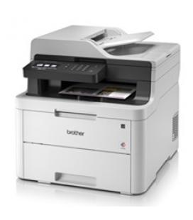 Multifuncion brother laser color mfc-l3710cw fax/ a4/ 18ppm/ 512mb/ usb/ wifi/ wifi direct/ conectividad movil/ adf 50 hojas