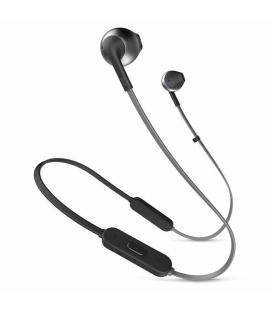 Auriculares bluetooth jbl tune 205 bt black - bt 4.1 - micrófono - 6 horas de conversación - cable plano - driver 12.5mm - func
