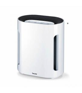 Purificador de aire beurer lr-200 - filtrado 3 capas - 3 niveles purificacion - filtro sustituible - para estancias hasta 15m2