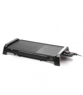 Grill sobremesa caso design bq 2200 - 2200w - plancha y parrilla aluminio fundido antiadherente - superficie 50*25cm - - Imagen
