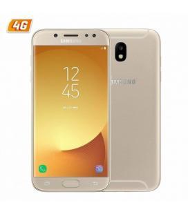 Smartphone móvil samsung galaxy j5 (2017) oro - 5.2'/13.2cm hd - dual cam 13/13mp - oc 1.6ghz - 16gb - 2gb - 4g - android - bt