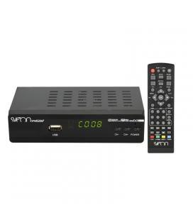Receptor tdt sveon spm820q9 - alta definición 1080p - función grabación - reproductor multimedia mkv h.264 - hdmi - scart - usb