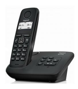 Telefono fijo inalambrico gigaset al117 a negro