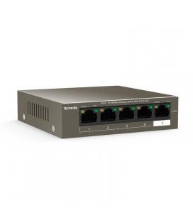 Switch tenda tef1105p-4-38w - 5 puertos 10/100 - puertos 1-4 con soporte poe (15w por puerto/35w total) - hasta 250m de